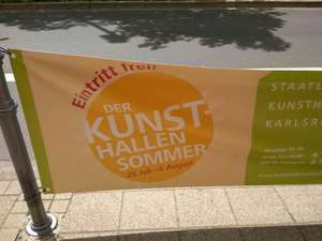 (aktuell) Kunsthalle Karlsruhe kostenlos 29.7.-4.8. mit Begleitprogramm