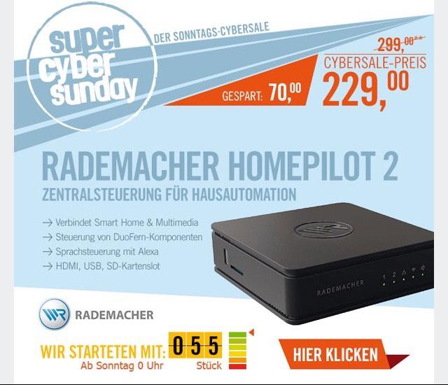 Preisfehler Rademacher homepilot 2
