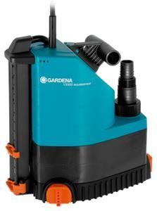 Passend zum Wetter der letzten Tage: Gardena Comfort 13000 aquasensor Schmutzwasserpumpe