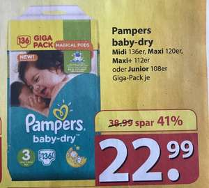 Pampers Baby Dry Giga Pack bei Famila Lokal