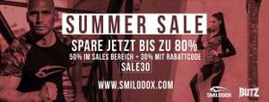 Bis zu 50% Rabatt im Summer-Sale + 30% Rabatt on top (MBW 70€)