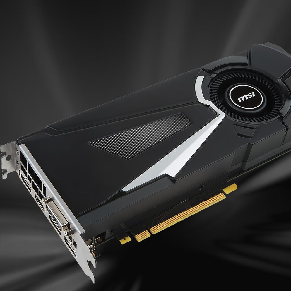 MSI GeForce GTX 1080 Aero OC 8GB Nvidia für 498,95€ - Amazon Vorbestellung