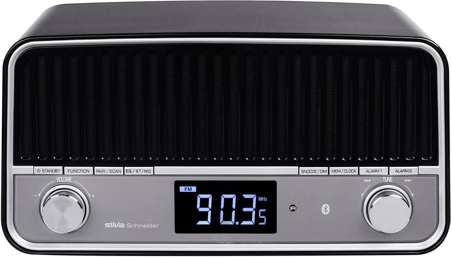 [Volkner] Silva Schneider UKW Tischradio BT-C 800 PLL-A AUX (schwarz, Bluetooth, USB, Wecker; Retrodesign) *UPDATE*