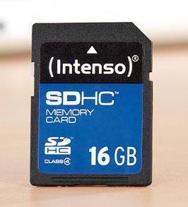 Intenso 16GB microSD/SD Karte für 7,77€ @Kaufland [bundesweit?]