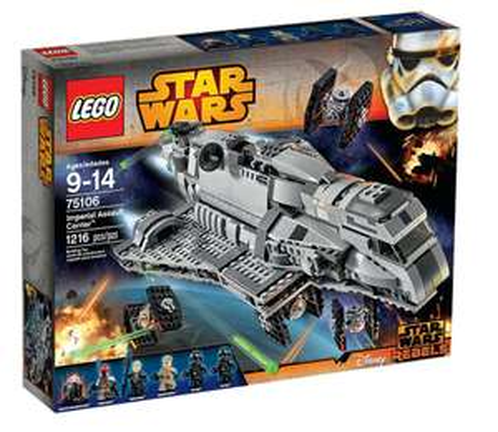 Lego Star Wars 75106 Imperial Assault Carrier bei Real für 79,00 Euro + Versand oder kostenlose Marktabholung