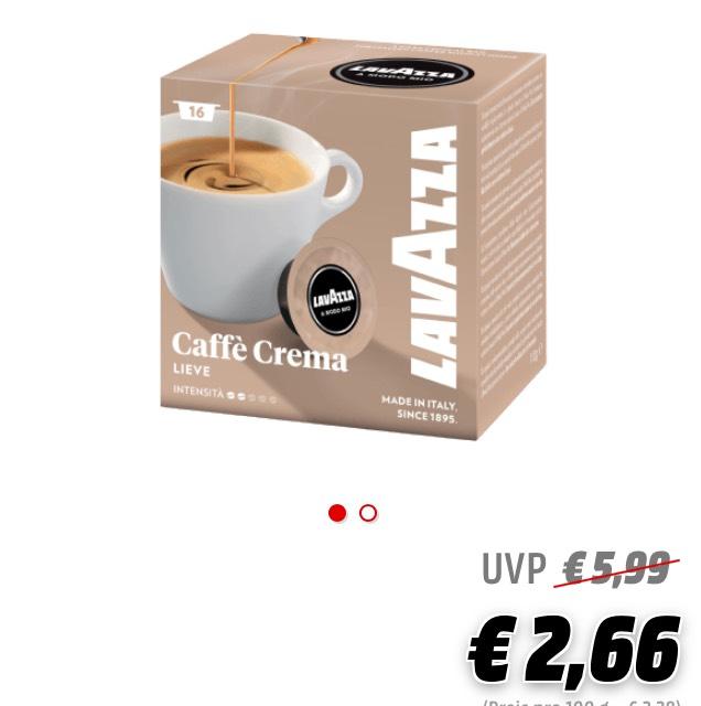 Lavazza A Modo Mio Kapseln für 2,66 statt 5,99€