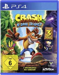 Crash Bandicoot N.Sane Trilogy (PS4) für 31,44€ inkl. VSK (Conrad)