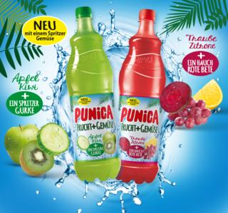 [Penny] 5 €-Gutscheinaktion von Punica in der Woche vom 3. bis zum 8. Juli 2017 bei Penny = 9 ct./Liter!