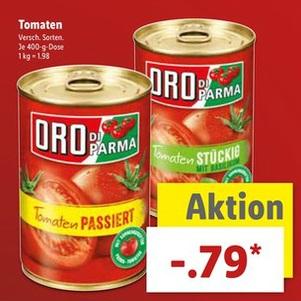 [LIDL] Oro Di Parma für 0,79 € bis einschl. 08.07