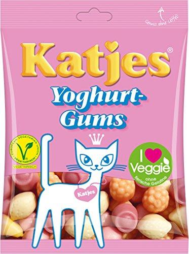 Katjes Yoghurt-Gums, 5er Pack (5x 200 g) Amazon Prime Plus Produkt
