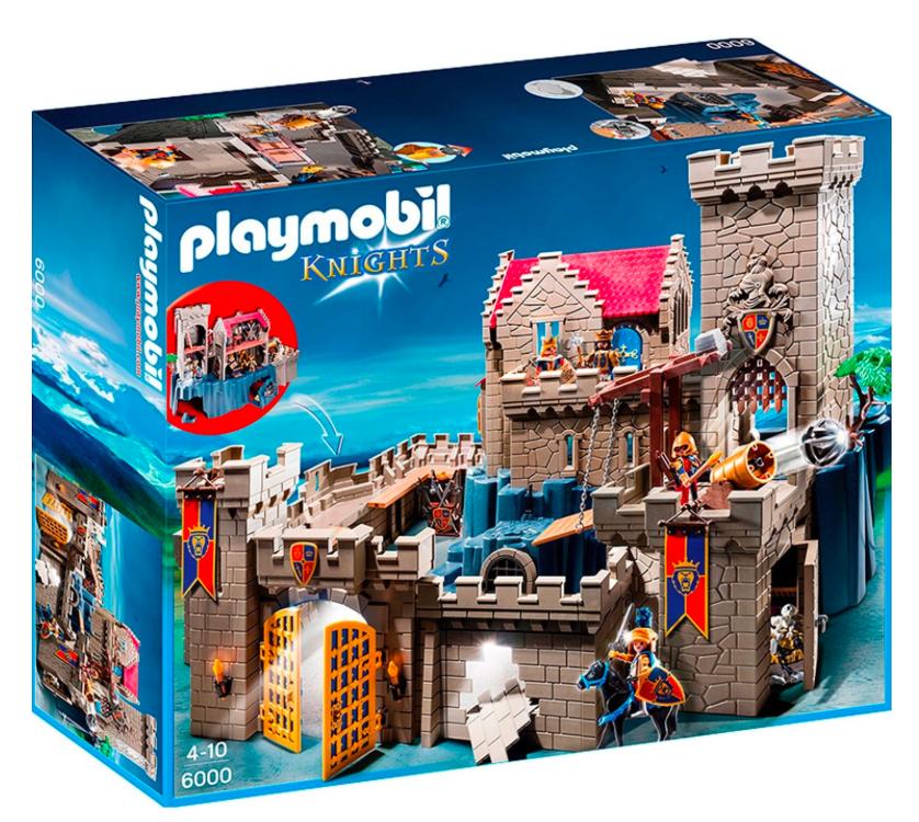 20% Rabatt auf Playmobil ab 30€ MBW bei [ToysRUs] z.B. Königsburg der Löwenritter für 95,99€ statt 115€
