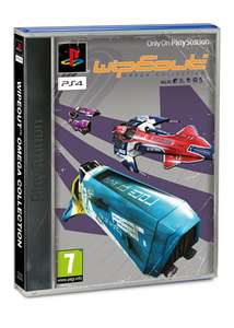 WipEout: Omega Collection (PS4) - Standard Sleeve für 23,87€ inkl. VSK (Base.com + ShopTo)