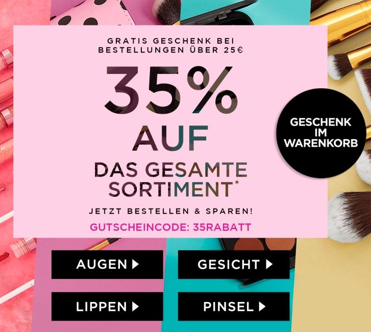 35% Rabatt auf fast alles bei BH Cosmetics ab 25€ + gratis Geschenk *Rabatt erhöht*