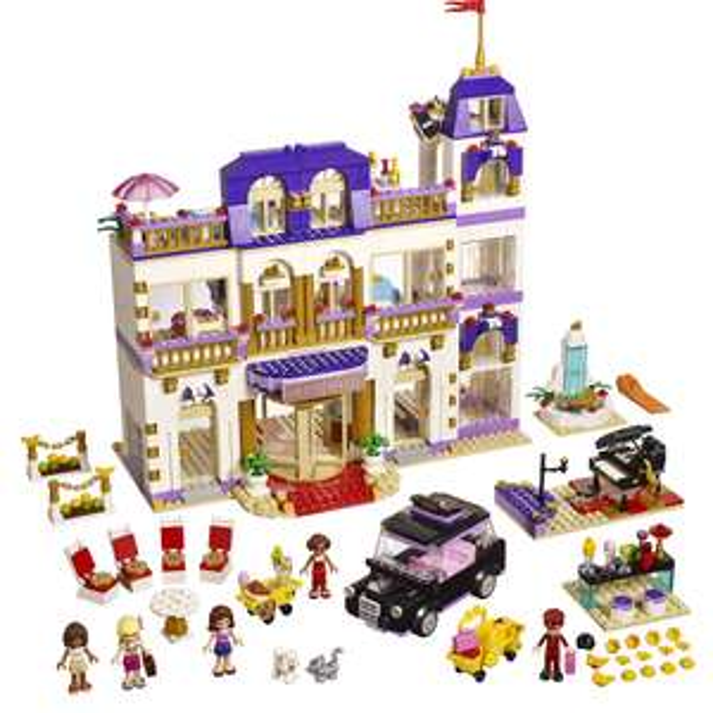[Toysrus] LEGO® Friends - 41101 Heartlake Großes Hotel für 71,99 EUR durch 20% Rabatt Aktion auf LEGO® Friends