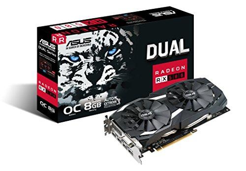 ASUS Dual Radeon RX 580 OC 8GB für 268,76€ (Amazon)