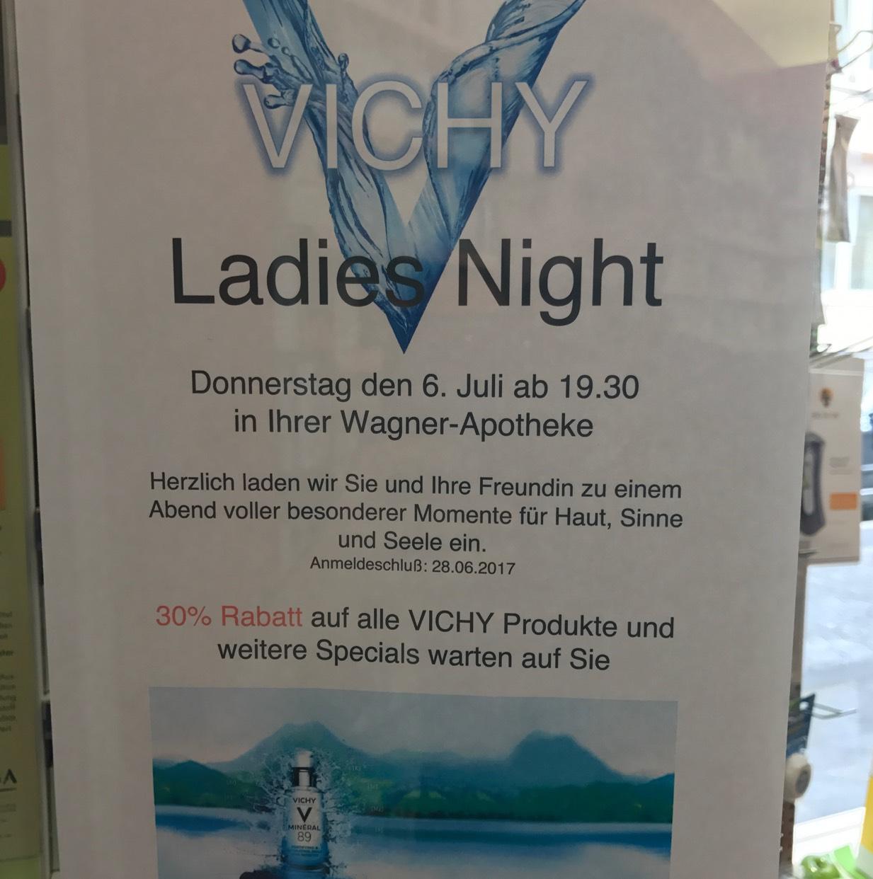 [Lokal] Düsseldorf 30% auf alle Vichyprodukte Vichy