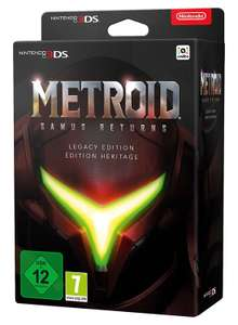 Metroid: Samus Returns Legacy Edition vorbestellbar bei Media Markt & Saturn