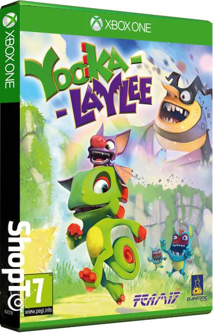Yooka Laylee (PS4 & Xbox One) + Yooka-Laylee Photo Card für je 26€ inkl. VSK (Shopto)