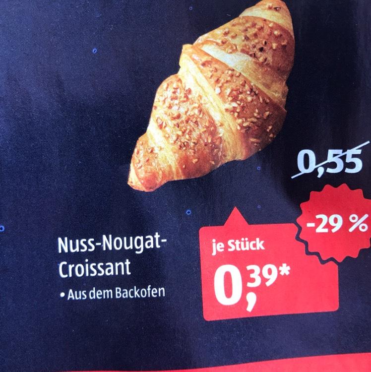 [Aldi Süd] Nuss-Nougat-Croissant in KW28