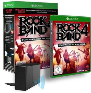 Rock Band 4: Controller Adapter Bundle (Xbox One) für 18,86€ (Gamestop)