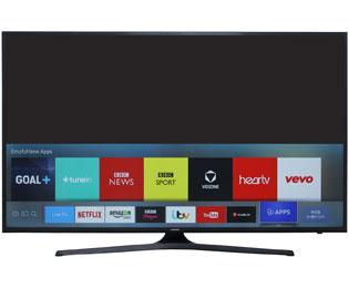 [ao.de] Samsung UE40KU6079 / KU6079 101 cm (40 Zoll) Fernseher (4K Ultra HD, Triple Tuner, Smart TV, HDR)