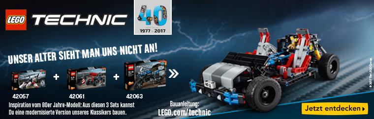 [Toysrus] 2 LEGO Technic Pull Back Fahrzeuge für 27,95 Euro