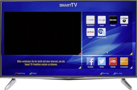 [Conrad] LED-TV 122 cm 48 Zoll JVC LT-48VU83A EEK A+ DVB-T2, DVB-C, DVB-S, UHD, Smart TV, WLAN, CI+ Schwarz