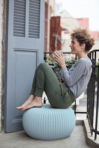 Keter Knit Garten-Sitzhocker für 29,48€ aus England