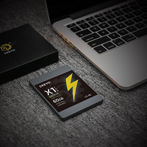 [amazon.de] 60GB S-ATA III SSD 2,5Zoll Festplatte DREVO X1 Serie