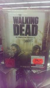 [Lokal Saturn Stuttgart Schlossplatz] Blu-ray Walking Dead Box Staffel 1-5 Uncut