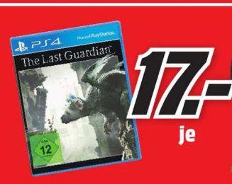 [Lokal Mediamarkt Hückelhoven] The Last Guardian PlayStation 4  für 17,-€ und in den Mediamärkten München für 19,-€