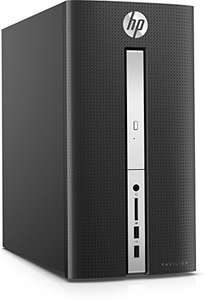 [Amazon] HP Pavilion (570-p081ng) Desktop PC (Intel Core i5-7400, 8 GB RAM, 1 TB HDD, Intel HD-Grafikkarte 630, DVD-Writer, Windows 10 Home 64) schwarz