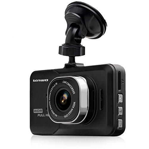 Günstige Full HD Dashcam mit 16 GB Karte