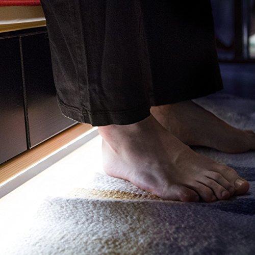 LED Bettlicht mit Bewegungssensor – dimmbar – Sicherheit im Dunkeln - Schlafzimmer @Amazon