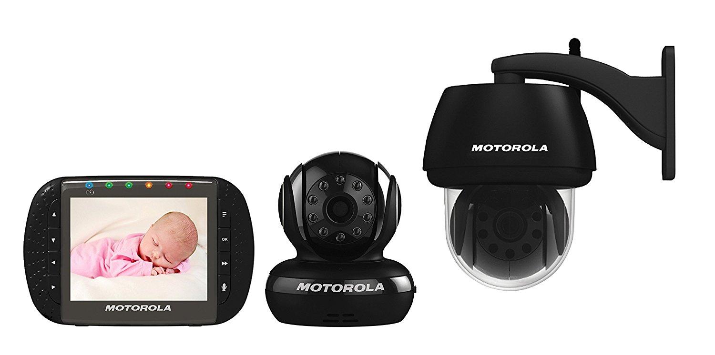 [@voelkner] Motorola Indoor- und Outdoor Funk-Überwachungs-Set für 79,99€ inkl. Versand
