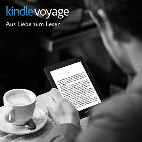 Kindle Voyage, Zertifiziert und generalüberholt, 15,2 cm (6 Zoll) für 129.- (Amazon Prime)
