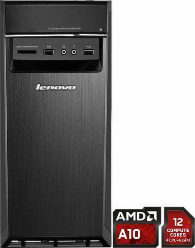 [Otto] Lenovo Ideacentre H50-55 PC, AMD A10, 8192 MB DDR3-RAM, 2000 GB Speicher, AMD Radeon A78, schwarz