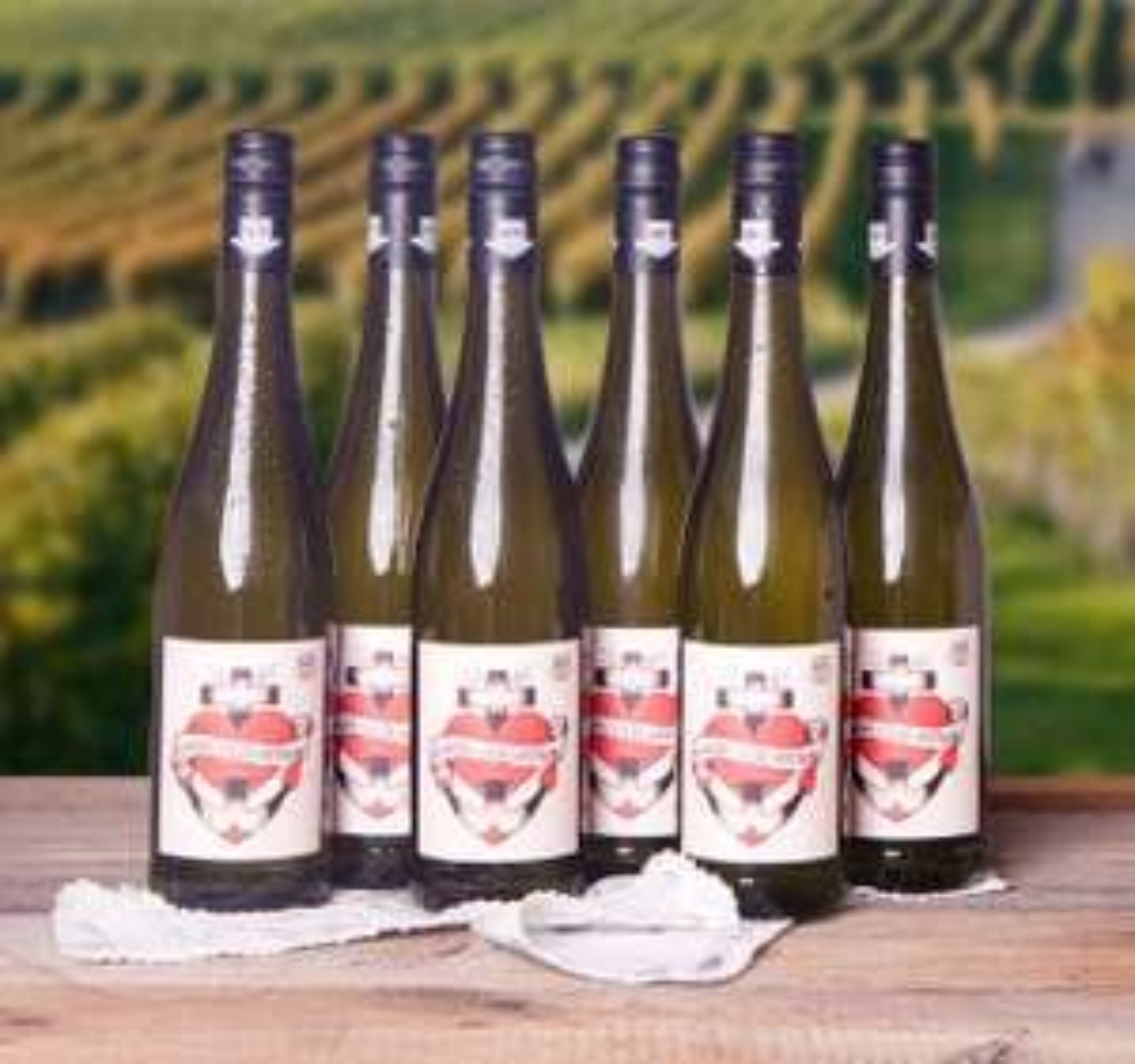 "12 Flaschen 2016er ""Glaube-Liebe-Hoffnung"" Riesling trocken / Pfalz /  Weingut Bergdolt-Reif & Nett für 4,98€ je Flasche [Foodist]"