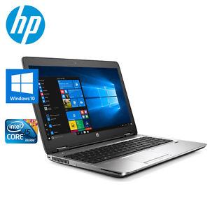 HP ProBook 650 G2, Intel i5-6200U, 4GB, 240GB SSD SanDisk, 15,6 Zoll, DVD-RW, Win10 Pro