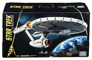 [Amazon Spanien] Mega Bloks - Star Trek U.S.S. Enterprise NCC-1701 Collector Construction Set für 174,92 Euro