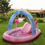 Mömax verschiedene Intex Kinderpools und Ride On Schwimmhilfen