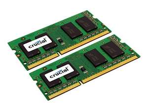 Crucial SO-DIMM Kit 16GB, DDR3L-1600, CL11 @ Amazon Fronkraisch