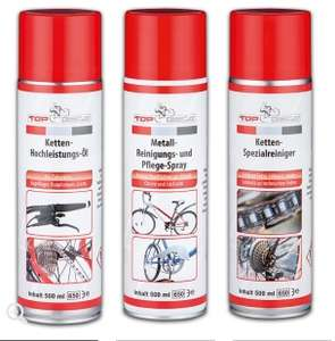 [Norma ab 10.7] verschiedene Fahrrad-/ Motorradsprays je 500ml