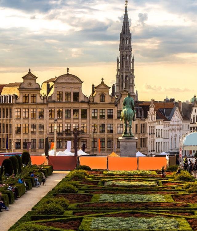 Hin-und Rückflug von Hamburg nach Brüssel mit Ryanair für 6€