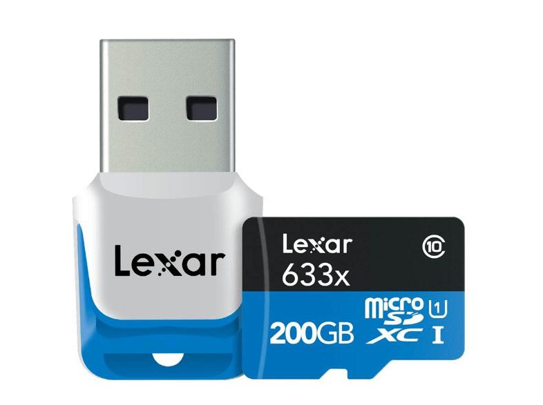 LEXAR High-Performance 200GB  für nur 56€ bei Media Markt !