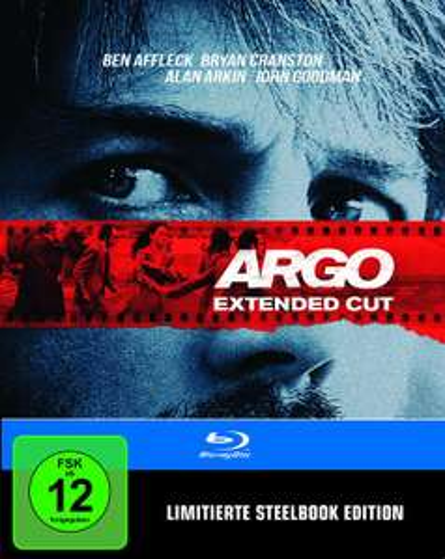 Argo - Extended Cut Steelbook (Blu-ray) (Limited Edition) für 6€ versandkostenfrei (Media Markt)