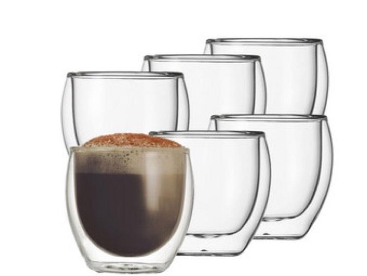 6x Schott Zwiesel Kaffeethermogläser