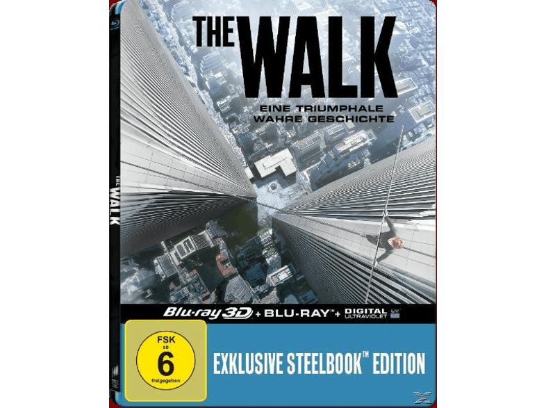 """""""The Walk"""" (Exklusive Lenticular Steelbook-Edition) 3D + 2D Blu Ray versandkostenfrei @ Media Markt"""