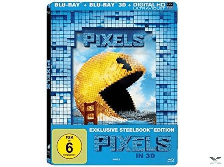 """""""Pixels"""" (Exklusive Lenticular Steelbook-Edition) 3D + 2D Blu Ray versandkostenfrei @ Media Markt"""