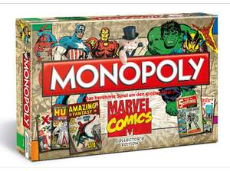 Monopoly: Marvel Comic (Winning Moves WIN44338) für 22€ versandkostenfrei (Media Markt)